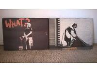 Banksy canvas pictures, Art.