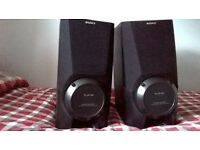 Sony floor-standing speakers