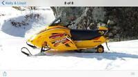 Mini z snowmobile