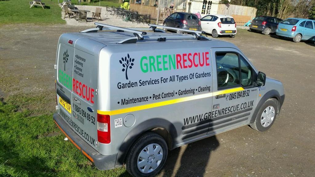 Gardening maintenance van for sale in pontefract west for Garden maintenance van