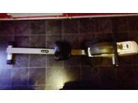 V fit air rowing machine £60
