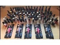 100+ Nail polishes & glitter