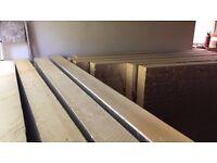 150mm rigid insulation - 6 full sheets