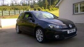 VW Golf GT TDI 140, 1 owner from new, Full Service History with £500 spent in last week.