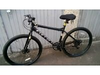 carrera subway one hybrid 24 speed mountain bike £150