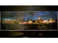 Liverpool Waterfront Signed Print Alina Tait New