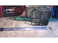 Fishing Rods, Reels, Nets and other accessories