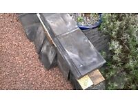 14 inch by 8 inch welsh roof slates