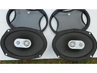 JBL 6x9 three-way speakers