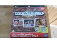 Coronation Street Boxed DVD Game With Limited Edition Quiz Beer Mats!