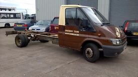 FORD TRANSIT RECOVERY TRUCK / CHASSIS CAB