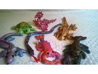 6 Sand Critters Toys