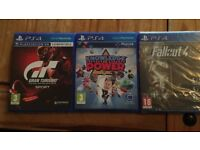 PS4 Slim console + 4 Games inc FIFA 18 - Brand New