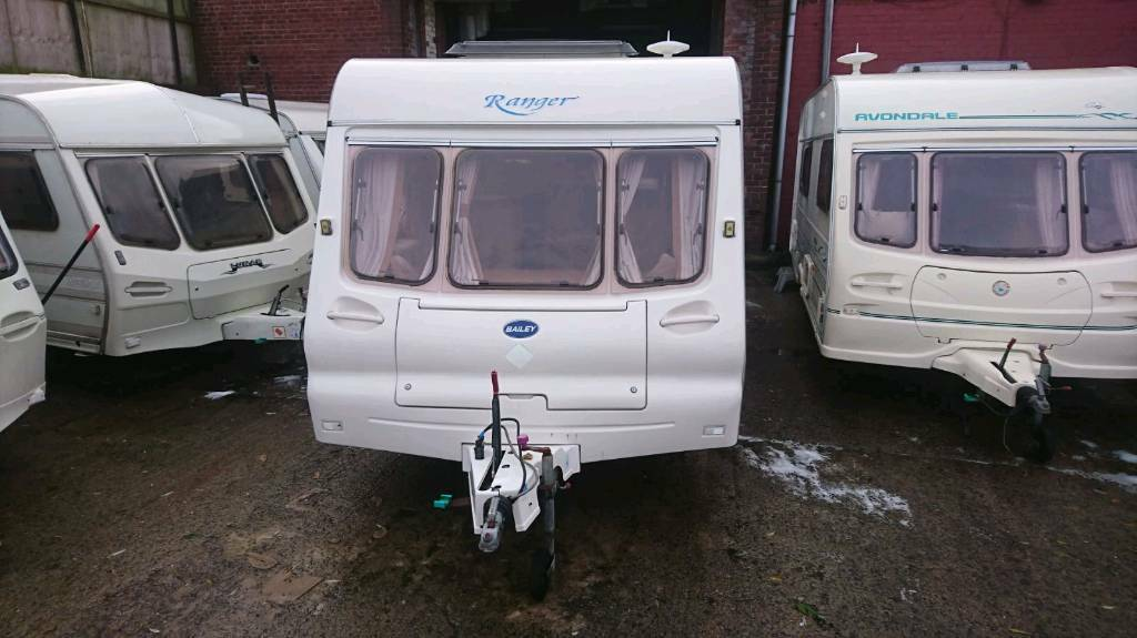 Bailey ranger 6 berth touring caravan