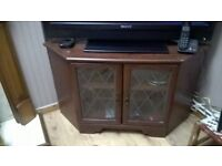free tv unit glass doors. buyer collects