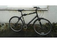 Mongoose Crossway 100 Hybrid bike