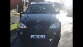 Mercedes ML350, LPG GAS, petrol, automatic, LOW mileage,