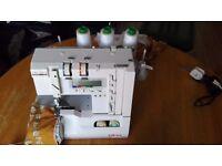 Sewing Overlocking Machine - Elna Lock Pro 5 DC