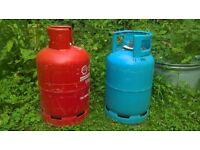 Gas bottles Wanted for upcycling