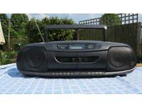 "Panasonic RXDT 401 ""Ghetto blaster"" style radio / double cassette / CD player"
