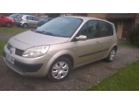 57 PLATE RENAULT SCENIC 1.6 EXPRESSION, 5 DOOR MPV, FACELIFT MODEL, LOW MILES, LONG MOT, 6 SPEED...