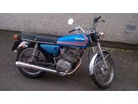1976 Honda cg125 E, needs MOT, classic insurance.