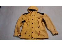 OUTDOORS JACKET. Vented sleeves. Size medium.