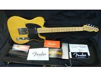 Fender Telecaster American Deluxe Ash - Butterscotch Blonde (2013/14) inc Original Fender Hard Case