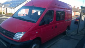 2006 LDV LWB High Top ex-Royal Mail Van.