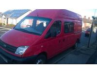 2006 LDV LWB High Top ex-Royal Mail Van.