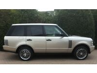 2002 Range Rover 4.4L V8 HSE in Gold - £3,500