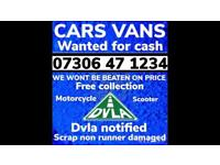 ♻️🇬🇧 SELL MY CAR VAN 4x4 CASH ON COLLECTION SCRAP DAMAGED NON RUNNING WANTED LONDON B