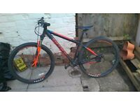 excellent condition mens carrera mountain bike (missing chain)