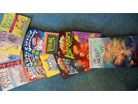 13 books - Roald Dahl, Captain Underpants, Astronauts etc