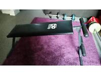 WEIGHTS TRAINING EXERCISE BENCH