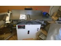 axminster aw106pt2 trade rated planer thicknesser and extractor