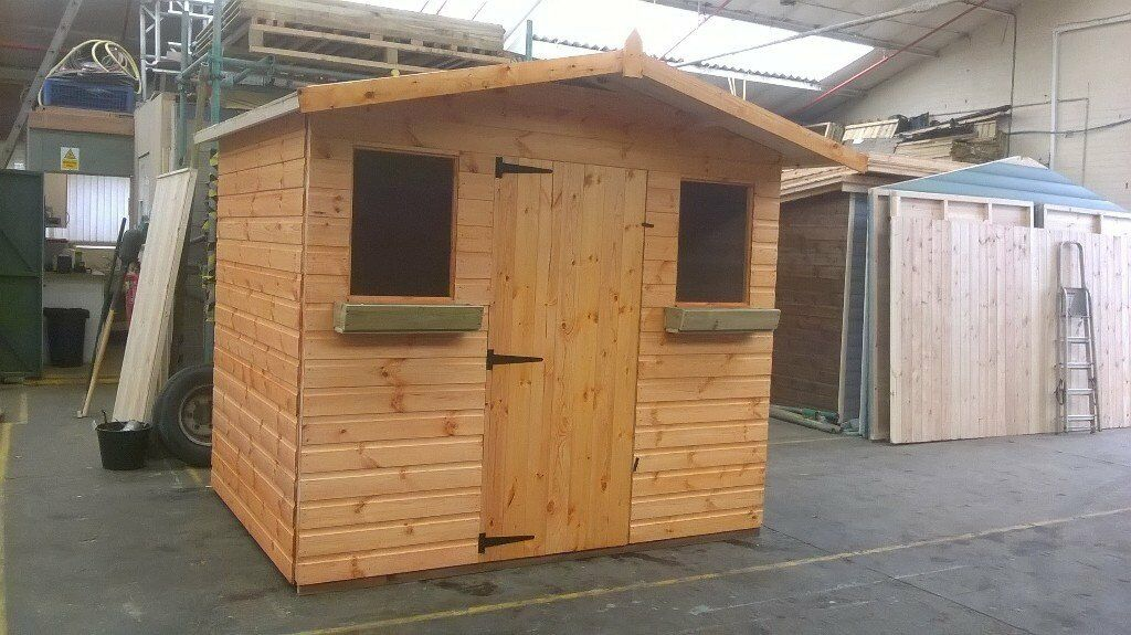 decorating garden sheds nottingham