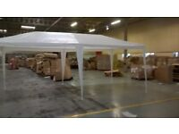 Party tent with side panels. 16ft by 10ft. White