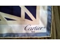 Cartier silk scarf(Reduced)
