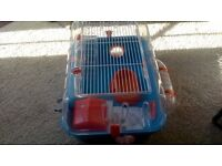 Ferplast Hamster Cage and accessories