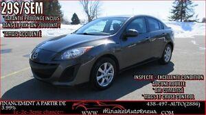 2011 Mazda Mazda3 *JAMAIS ACCIDENTÉ* INSPECTÉ + A/C