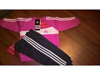 BRAND NEW WITH TAGS. ADIDAS TRI COLOR TRACKSUIT