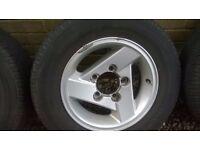 Suzuki Jimny Alloywheels for sale (car now SOLD )