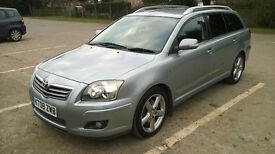 Top Of Range 2008/08 Toyota Avensis T180 D4D Estate Tourer DAB Ipod Connection Bluetooth Diesel