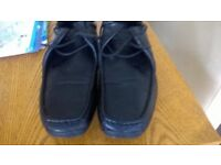 Mens leather casual shoes size8
