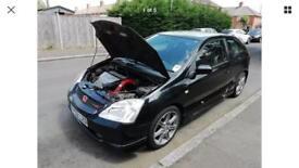 Honda Civic Type R ep3 K20A2 Nighthawk black spares or repairs breaking K&N Typhoon