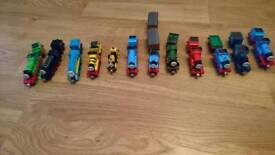 Thomas and fried die cast trains