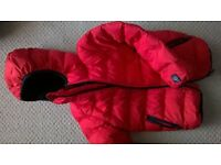 Next red padded coat age 3