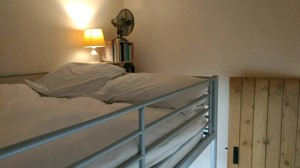 Double Loft Bed (Svärta)