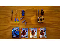 Lego Ninjago Spinners NRG Cole and Jay ZX Complete